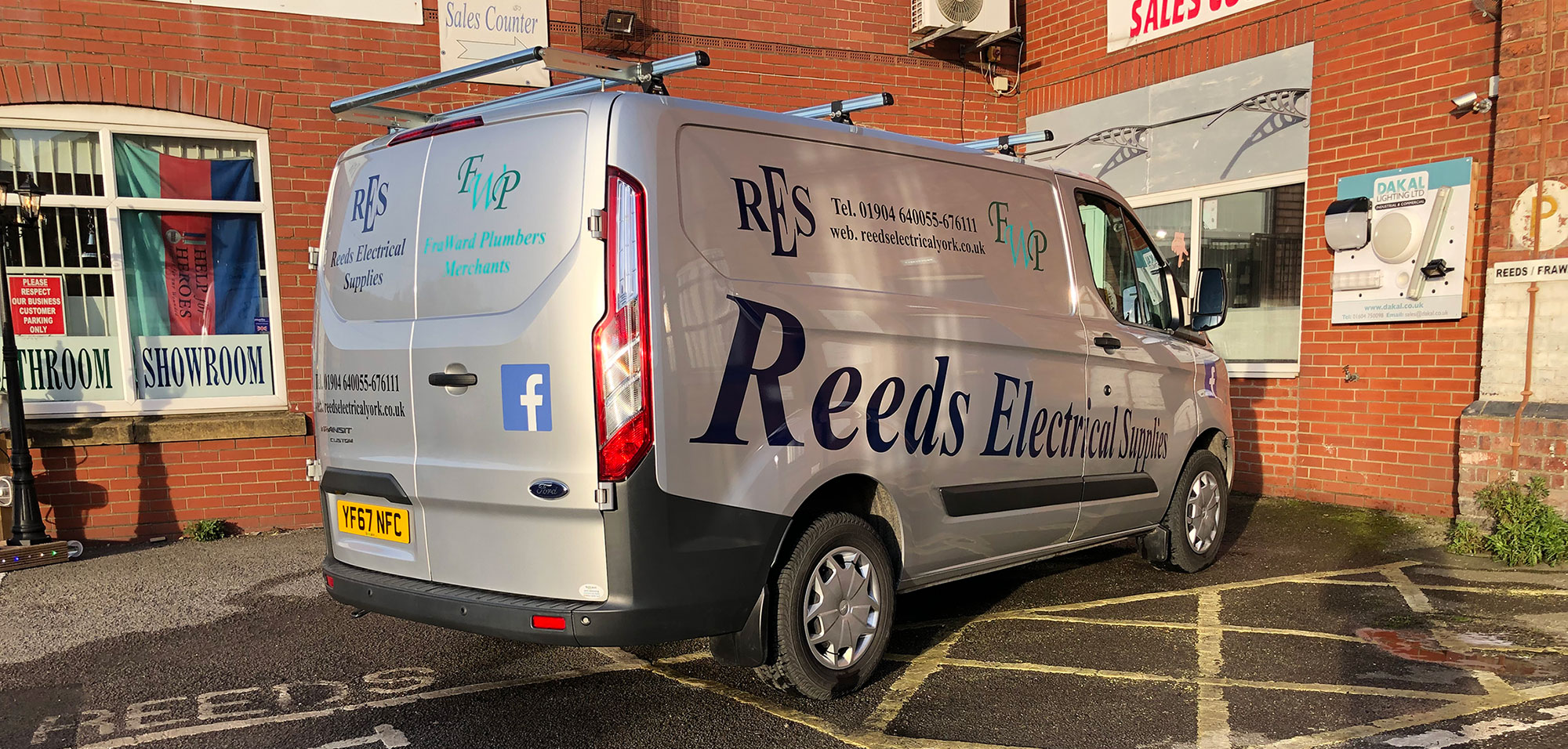 Reeds Electrical Supplies and FraWard Plumbing Merchants